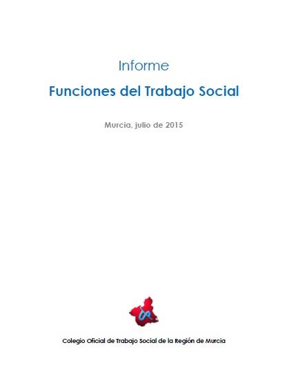 Portada Informe Funciones del Trabajo Social